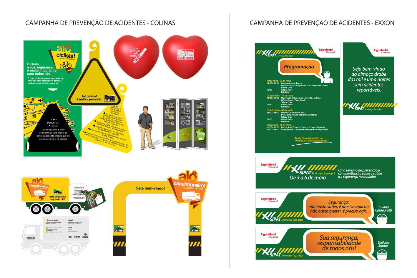 Campanha de segurança na estrada - Colinas/Exxon