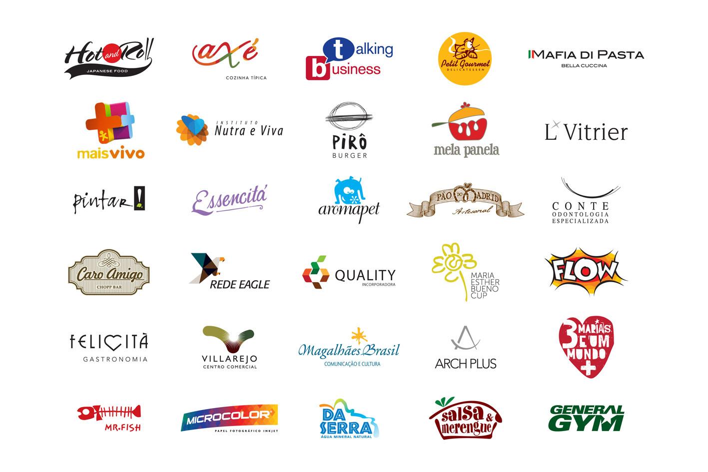 Criação da logomarcas e logotipos