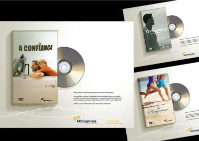 Campanha institucional – Microservice fabricante de Cds e DVDs
