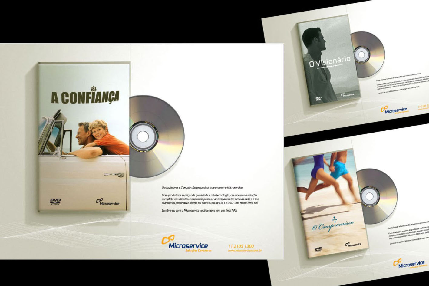 Microservice fabricante de CDs e DVDs