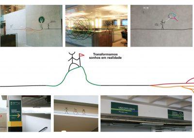 Projeto gráfico para o escritório Ornatus